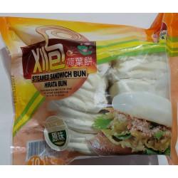 Fresh Asia Foods Steamed Sandwich Bun 600g Frozen Taiwanese Hirata Bun