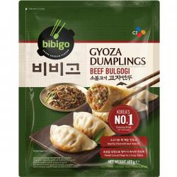 CJ Bibigo Frozen Beef Bulgogi Gyoza Dumplings 600g