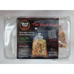 Grab Thai Go Holy Basil Stir Fry Glass Noodles Kit 120g