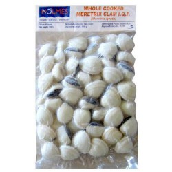 Holmes Frozen Cooked Whole Clams 1kg