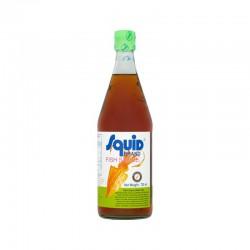 Full Case Of Squid Brand Fish Sauce 12x725ml 鮮魚標 香甜魚露 Squid Brand Fish Sauce