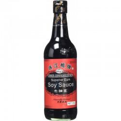 Full Case of 12x Pearl River Bridge Dark Soy Sauce 珠江橋牌老 500ml PRB Dark Soy Sauce
