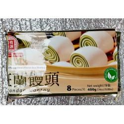 Jia You Liang Yuan Frozen Pandan Flavour Original Steam Bun (Montou) 400g