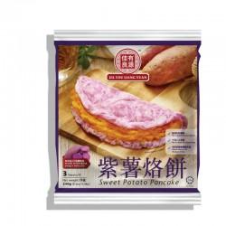 Jia You Liang Yuan Frozen Sweet Potato Pancake (3 Pieces) 240g