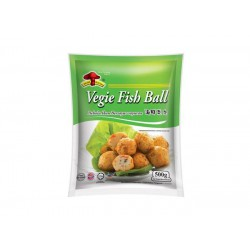 Mushroom Brand Frozen Vegie Fish Ball 500g