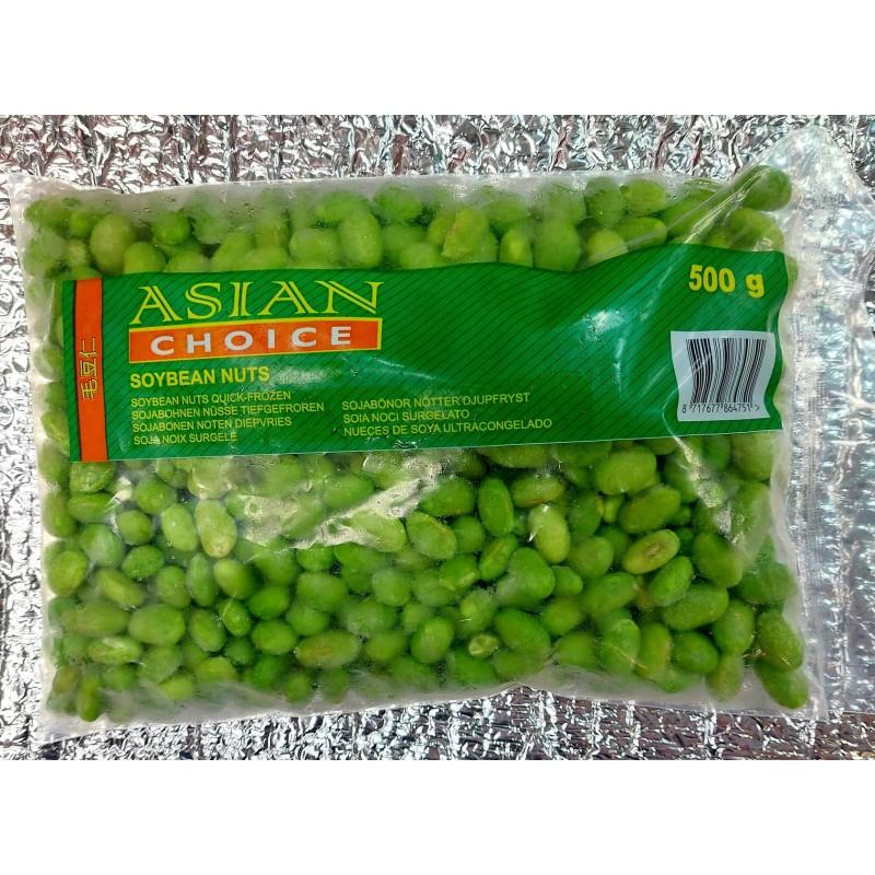 Asian Choice Frozen Soybean Nuts 500g