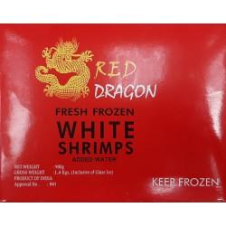 Red Dragon Fresh Frozen White Shrimps 900g 26/30 Headless Shell On