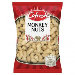 Cofresh Monkey Nuts (Roasted Peanuts In Shell) 300g