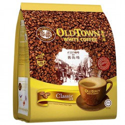 Old Town White Coffee 3 in 1 Classic 15x38g Sticks Instant Malaysian Coffee
