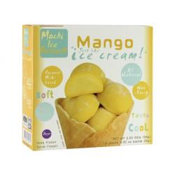 Buono Mochi-Ice Non-Dairy Frozen Mango Flavour 6x26g Mochi Cocunut Milk Ice Cream