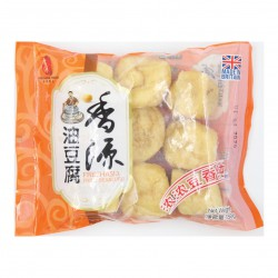Fresh Asia Foods Fried Beancurd 香源干丝150g Frozen Fried Beancurd