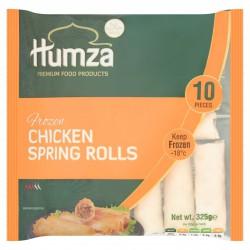 Humza Chicken Spring Rolls 10pc 325g Frozen Spring Rolls
