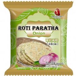 Fresh Asia Onion Paratha Roti Pancake 325g Frozen Roti Paratha Onion