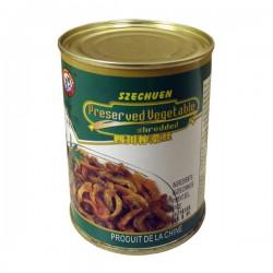 Brotherhood Szechuen Preserved Vegetable 340g 兄 弟 牌 四 川 榨 菜 絲 Shredded Veg