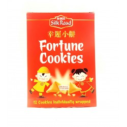 Full Case of 6x Silk Road Fortune Cookies 70g Box of 12 individually wrapped cookies