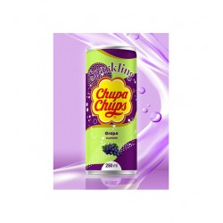 Chupa Chups 250ml Grape Flavour Sparkling Soft Drink