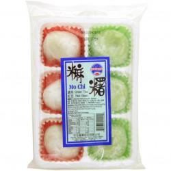 SUNWAVE MOCHI MO CHI 230G 6PCS, GREEN TEA RED BEAN MOCHI