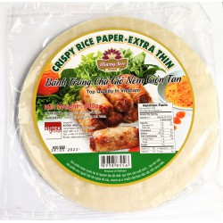 Huong Sen Banh Trang Cha Gio Nem Gion Tan 400g Crispy Rice Paper Extra Thin