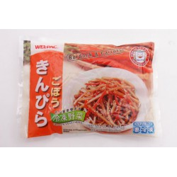 Wel-Pac 454g Frozen Shredded Burdock Root And Carrot