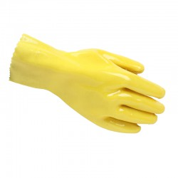 Eryounanyang Medium Industrial Emulsion Gloves (Acid-Proof Alkali)