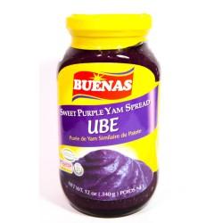 Buenas Ube Sweet Purple Yam Spread 340g Sweet Purple Yam Spread