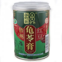 Double Coins 12x250g Guiling Gao Jelly Red Bean