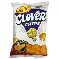Leslie's snacks - Clover  Chips (small) 85g - Cheese flavour snack