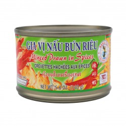 Nang Fah Minced Prawns in Soybean Oil and Spices 160g