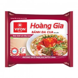 Vifon Instant Brown Rice Noodles With Crab 120g Hoang Gia...