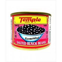 Temple Brand Fermented Salted Black Beans 180g Salted Black Beans