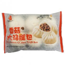 Fresh Asia Foods 510g Frozen Mushroom & Chicken Thigh Buns