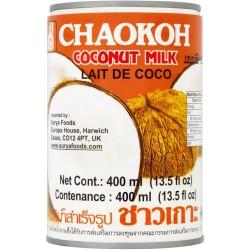 Full Case of 4x Chaokoh 400ml x 6 pack of Thai Coconut Milk