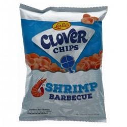 Leslie's 50g Clover Chips Shrimp Barbecue
