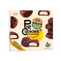 Royal Family Banana Pie Cookies 160g With Mochi