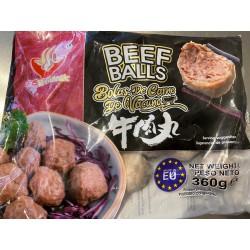 Authentic 360g Frozen Beef Balls