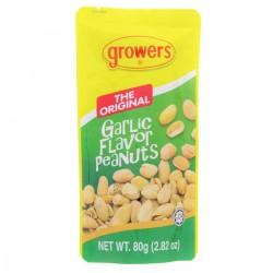 Growing The Original 80g Garlic Flavour Peanuts