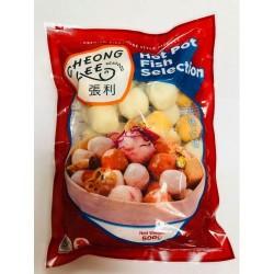 Cheong Lee 500g Frozen Hot Pot Fish Selection