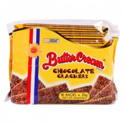 Butter Cream Brand 10x25g Croley Foods Chocolate Crackers
