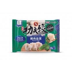 Kung Fu Foods Pork And Chive 400g Tasty Dumplings
