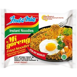 Indomie Mi Goreng Original Flavour Instant Indonesian Yellow Noodles