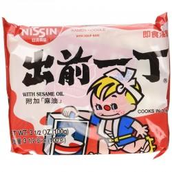 Nissin Noodle - Sesame Oil (出前一丁 麻油味) Japanese Raamen Noodles