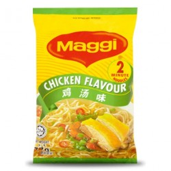 Maggi Noodles - Chicken Flavour (雞湯味面) Malaysian Noodles