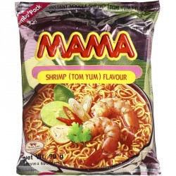 Mama Noodles - Shrimp Tom Yum Flavour Large Pack 90g Thai Noodles