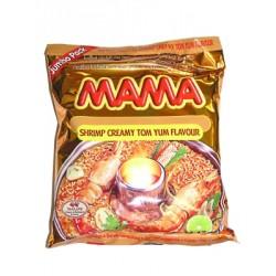 Mama Noodle - Shrimp Creamy Tom Yum Flavour Large Pack 90g Thai Yellow Noodles