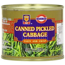 Ma Ling Cabbage - Canned Pickled Chinese Cabbage (雪菜)