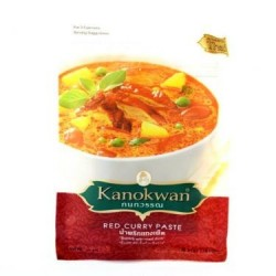 Kanokwan Paste - Instant Red Thai Curry Paste