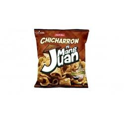 Jack n Jill Snacks - Mang Juan Green Pea Vinegar & Chilli Flavour Mock Pork Crackling Filipino Snack