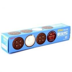 Lotte Snacks - Kkamddu Korean Cookies