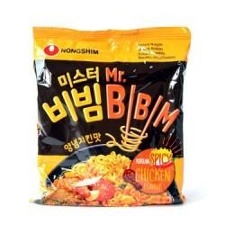 Nong Shim Noodles - Mr Bibim Spicy Chicken Flavour Korean Noodle