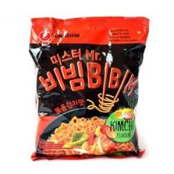 Nong Shim Noodles Mr Bibim Kimchi Flavour Korean Noodles